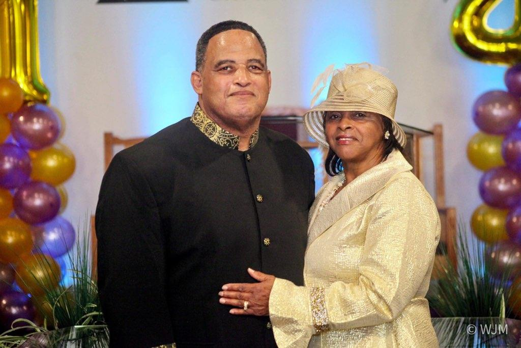 Bishop English and First Lady